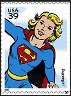 Supergirl Stamp