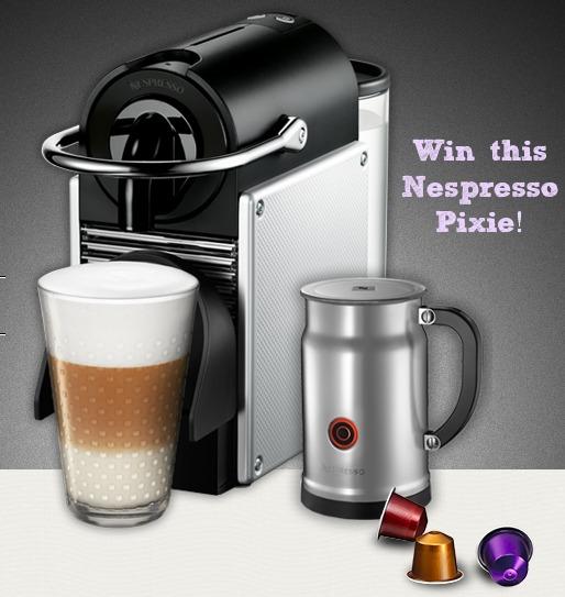 Nespresso Pixie Giveaway