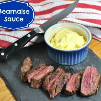 Steakhouse at Home: Making Bearnaise Sauce with a 2 Year Old