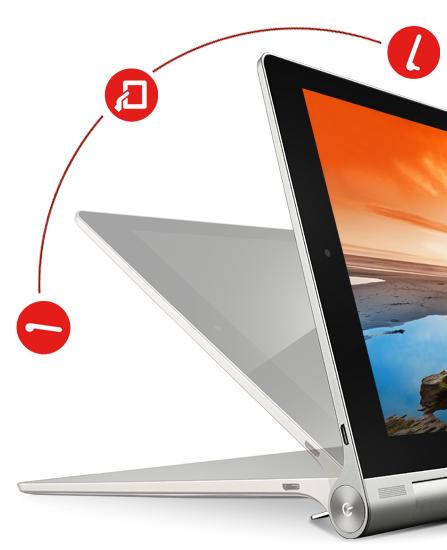 Lenovo Yoga Tablet Flexible Kickstand