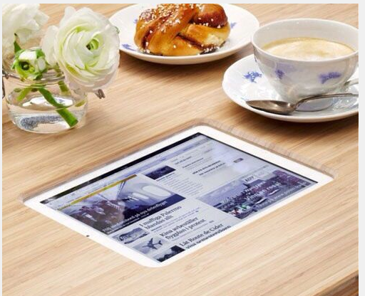 tablet in counter