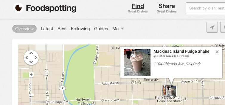 Foodspotting Screen Shot