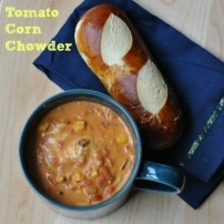 Tomato Corn Chowder: a Comforting Riot of Color in a Bowl
