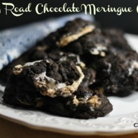 Chocolate Meringue Rocky Road Cookies