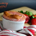Strawberry Souffles: a Very Pink Valentine's Dessert