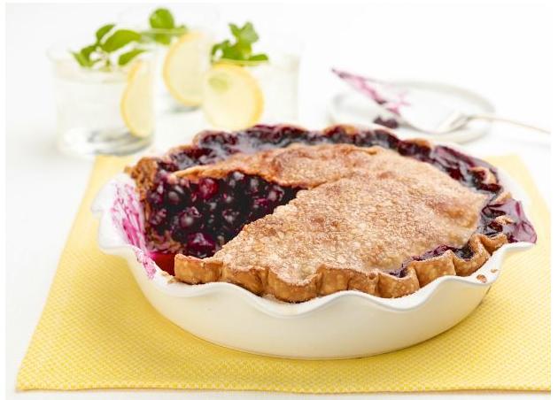 Summertime Blueberry Pie
