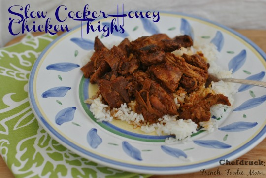 Slow Cooker Chicken Thighs Text
