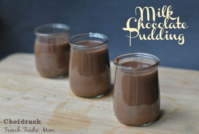 Milk Chocolate Pudding