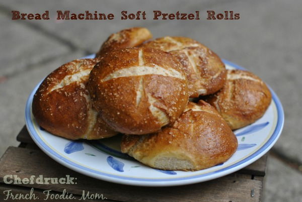 Homemade Bread Machine Pretzel Rolls