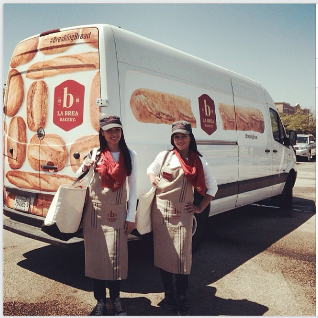 La Brea Bakery Breaking Bread Bus