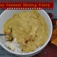 Creamy Coconut Shrimp Curry