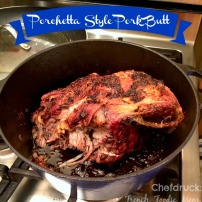 Porchetta Style Pork Butt:a Cook it and Forget It Kind of Dish