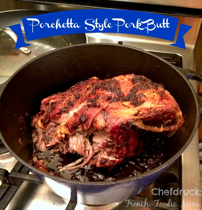 Porchetta Style Pork Butt