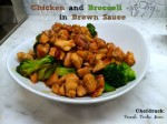Chicken Stir Fry with Brown Sauce : Cooking with Maximum Power with the Capital Culinarian