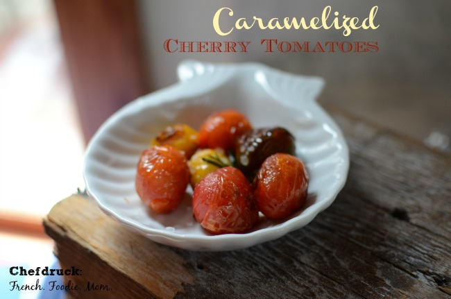 Caramelized Cherry Tomatoes