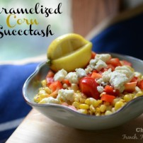 Caramelized Summer Corn Succotash
