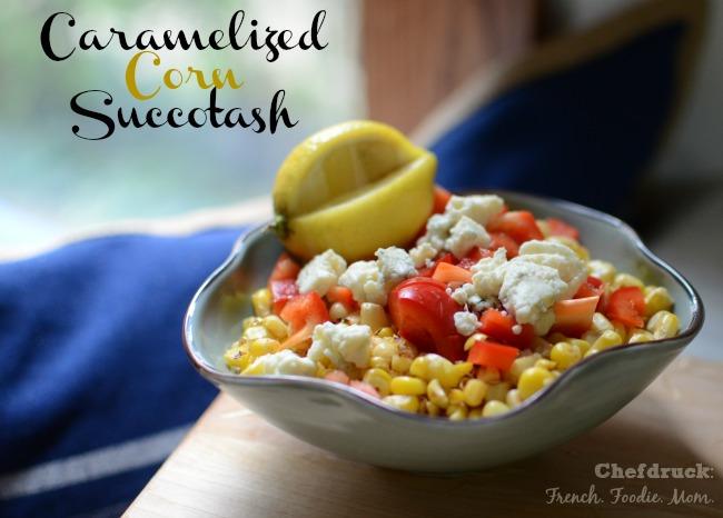 Caramelized Corn Succotash