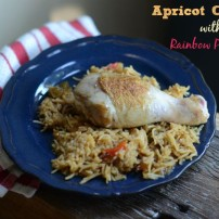 Apricot Chicken Drumsticks or How to Trick a Picky Eater Crew to Adopt a New Dish