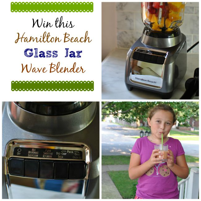 Hamilton Beach Wave Blender Giveaway