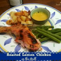 Butterflied Chicken on the Grill with a Zesty Lemon Sauce