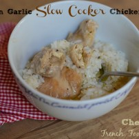 Breaking from Slow Cooker Routine: Lemon Garlic Chicken Thighs