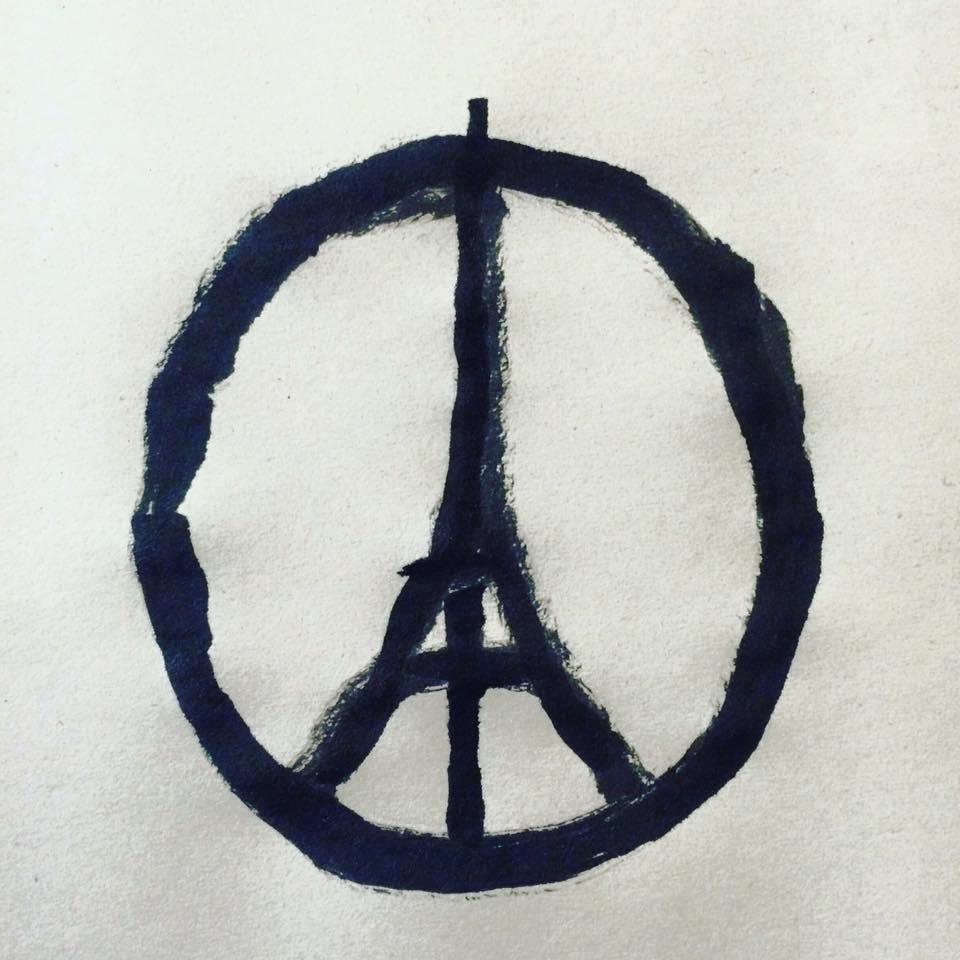 Jean Jullien Paris Je T'aime