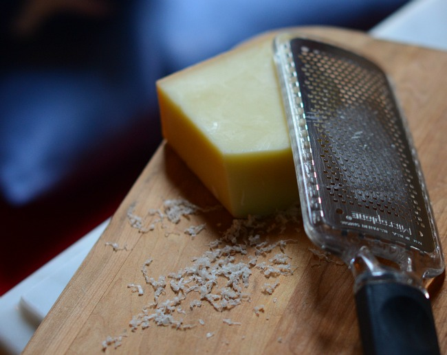 Grated Comte