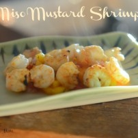 Miso Mustard Shrimp with 10 Minute Marinade
