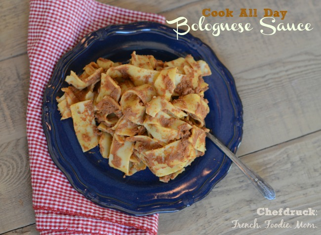 Cook All Day Bolognese Sauce