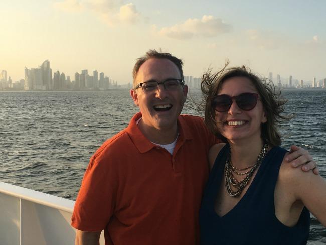 Steve and Vanessa in Panama