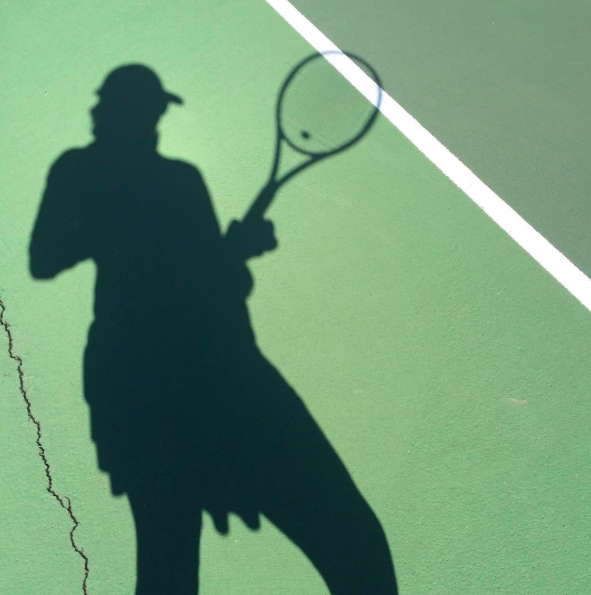 Vanessa Tennis Silhouette