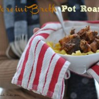 Pot Roast with Porcini Broth for Instapot or Crockpot