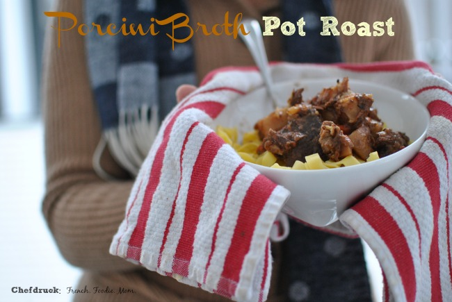 Porcini Broth Pot Roast with Text