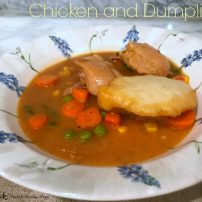 Chicken and Dumplings: an American Classic with a French Base